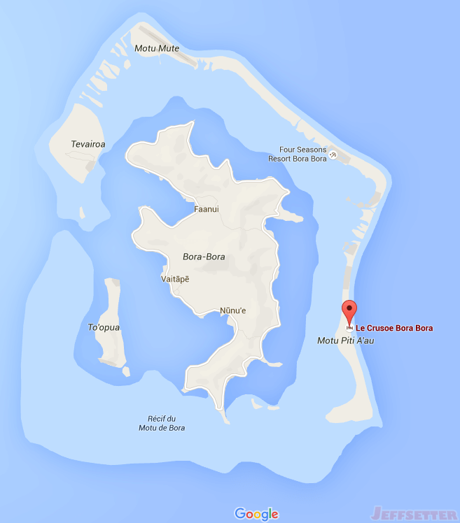 Google Map of Le Crusoe
