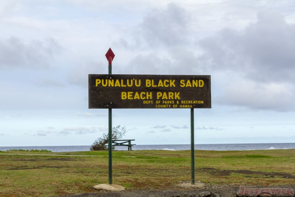 Punalu'u Black Sand Beach Park