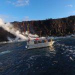 Lava Flow 61G Reaches the Sea
