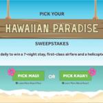 Hawaiian Paradise Sweepstakes