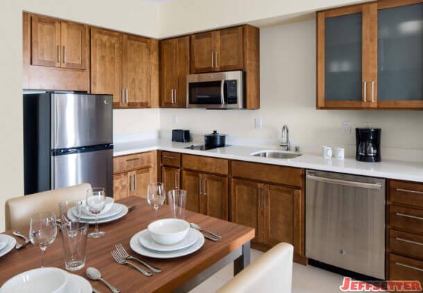 In-Room Kitchen  - Courtesy Marriott International