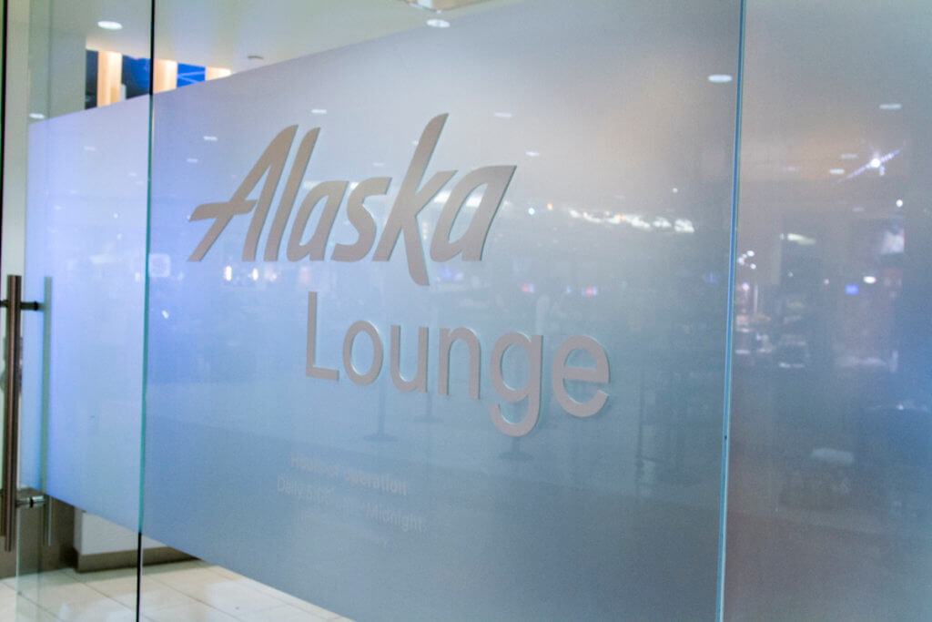 Alaska Air N Terminal Lounge