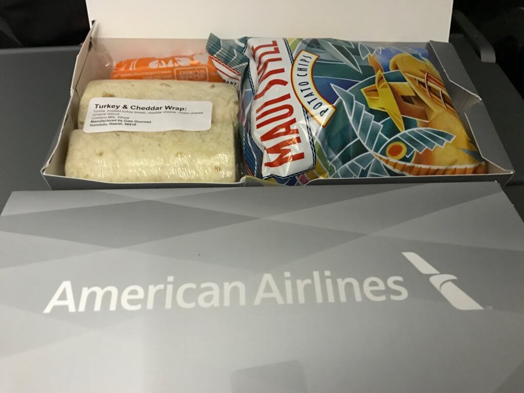 Economy Meals on Even More Flights