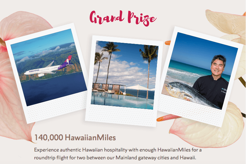 Hawaiian Air Be Mine Sweepstakes