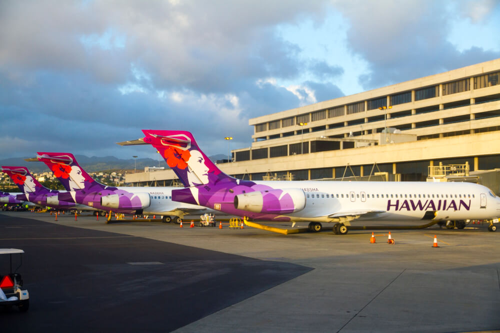 Hawaiian Airlines Discus Fleet and Routes