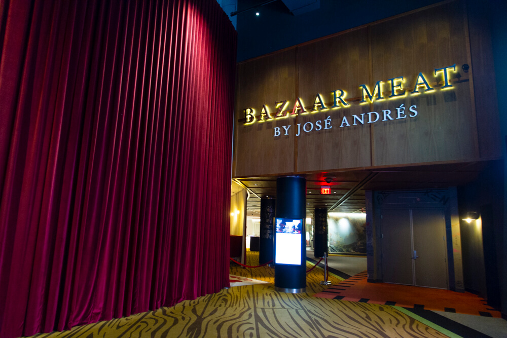 Bazaar Meat Las Vegas
