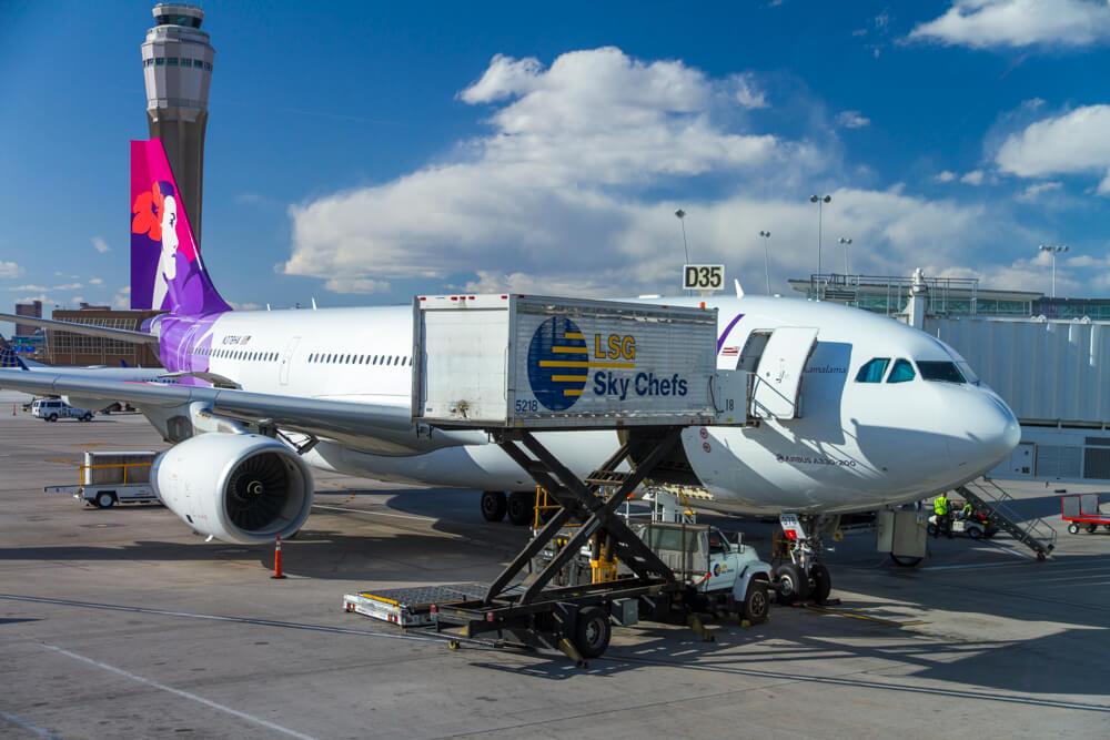Hawaiian Airlines Extra Comfort LAS-HNL