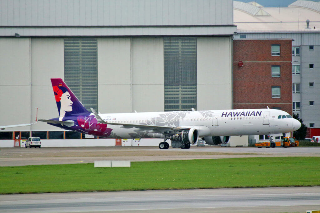 First Hawaiian Airlines A321neo