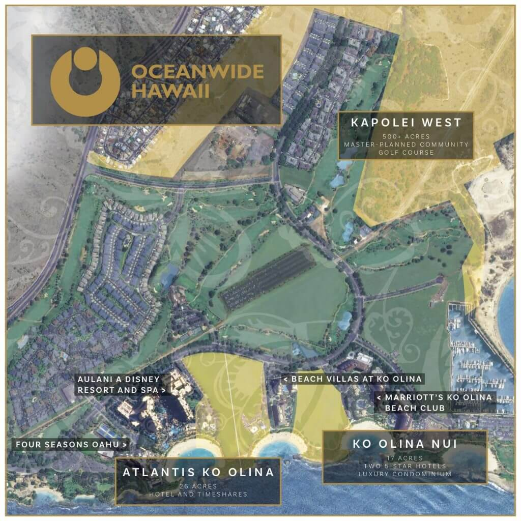 China Oceanwide Discusses Ko Olina Projects