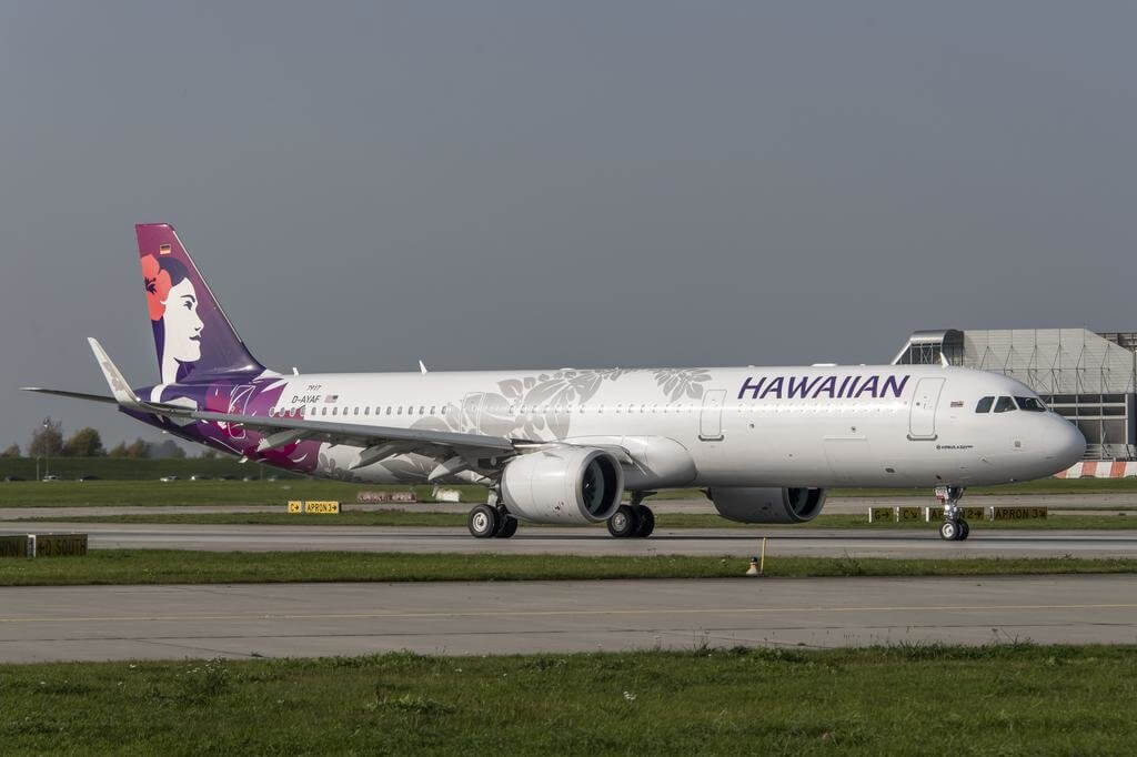 Hawaiian Airlines Accepts First A321neo