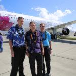 Hawaiian Says Aloha to CEO Mark Dunkerley