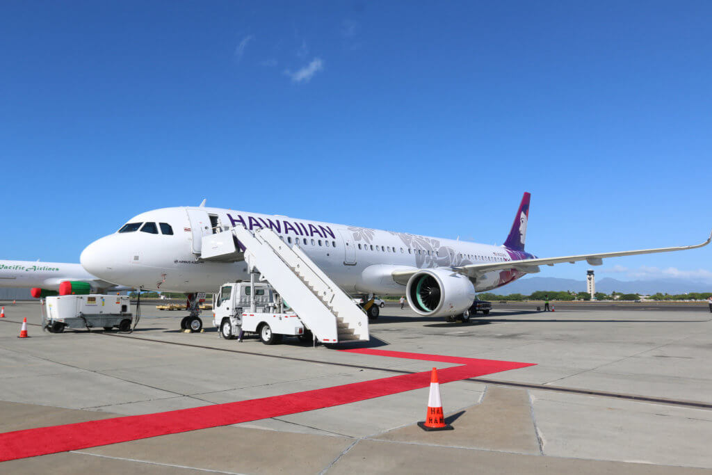 Hawaiian Airlines Welcomes Its First A321neo