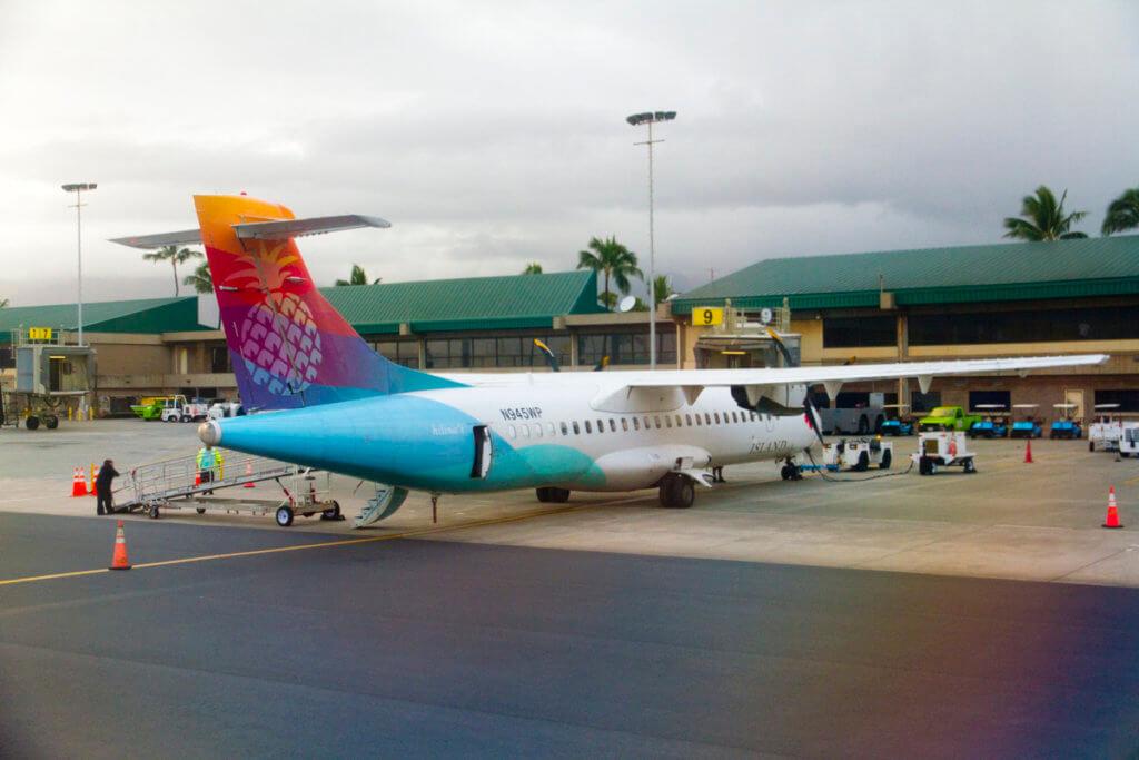 Post-Island Air Intra-Hawaii Travel