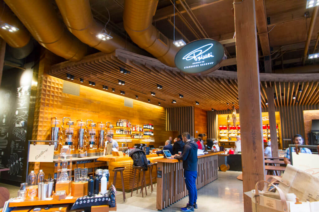 Starbucks Reserve Roastery Seattle Revisited