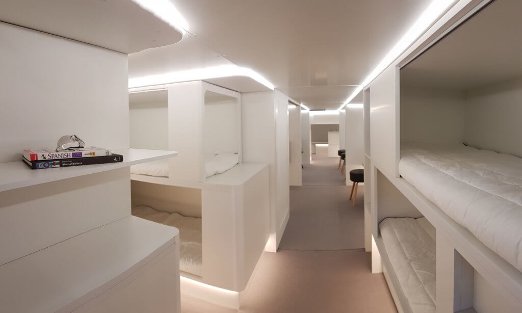 Airbus Wants to Put Beds in the Cargo Hold