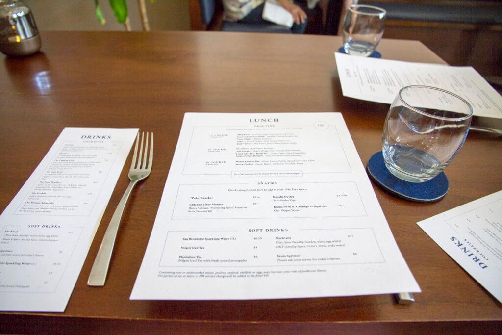 Restaurant Senia Lunch
