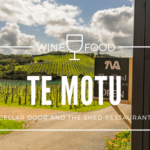 Wineries: Waiheke Island Te Motu Vineyards and The Shed Restaurant