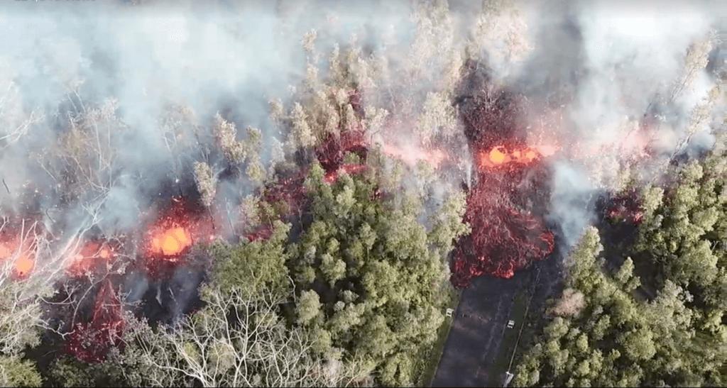 Kilauea East Rift Zone Eruption 2018
