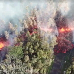 Kilauea East Rift Zone Eruption 2018