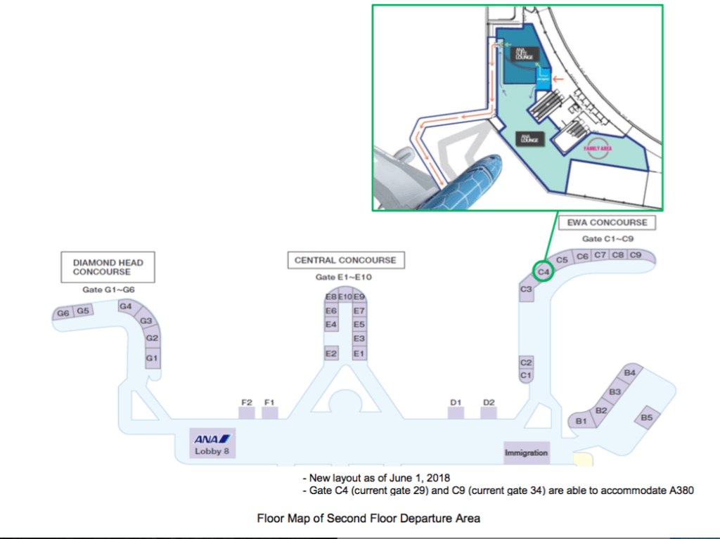 New ANA Lounge is Coming to HNL