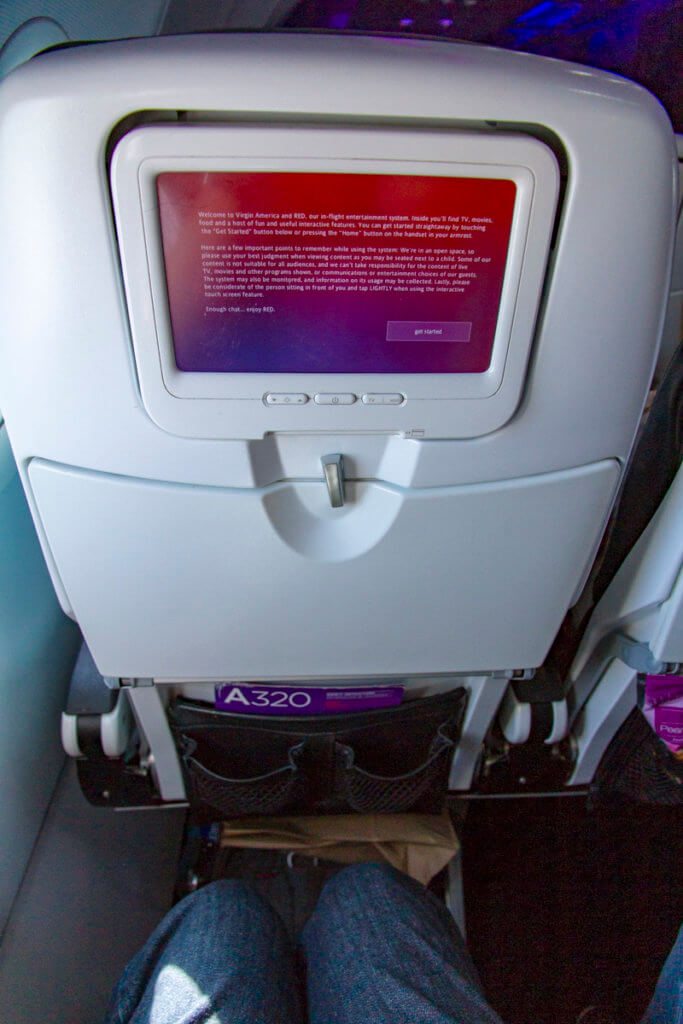 Virgin America Main Cabin SFO-HNL