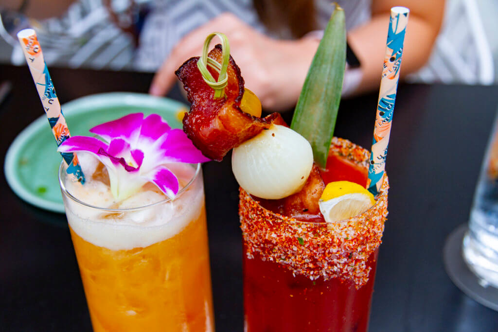The Hideout Waikiki Brunch