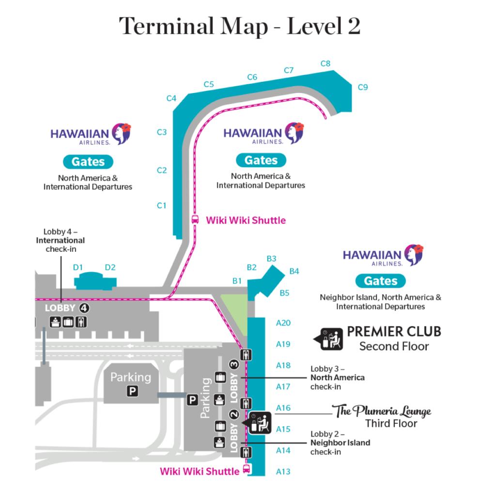 Hawaiian Airlines Shuffles Check-In Lobbies at HNL