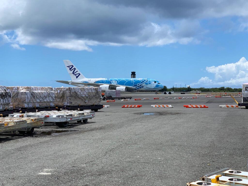 ANA Conducts A380 Test Flights to Honolulu