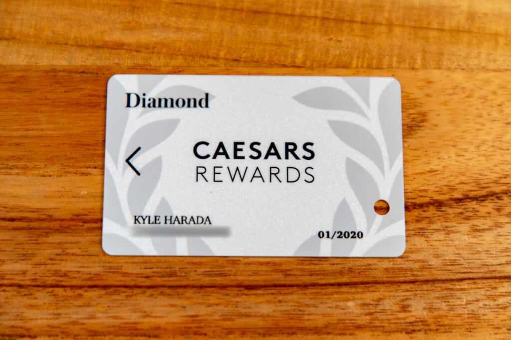 The Caesars Rewards Celebration Dinner is a Joke
