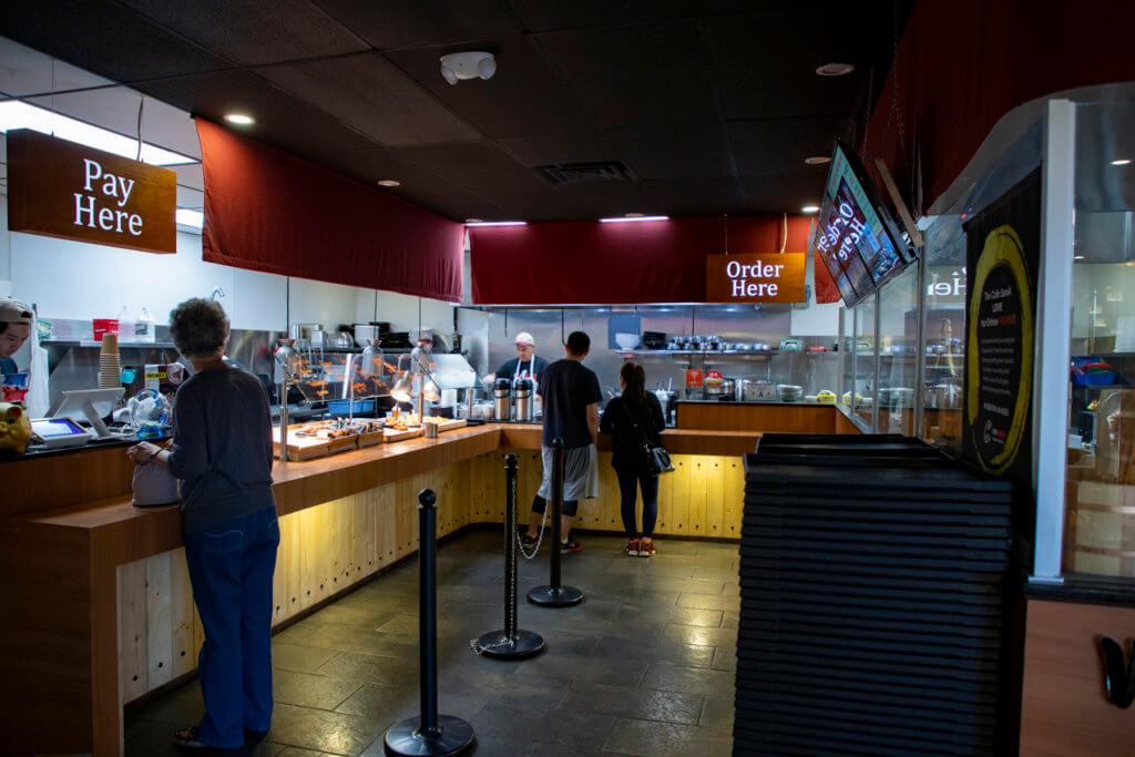 Eating Udon at Cafe Sanuki Las Vegas