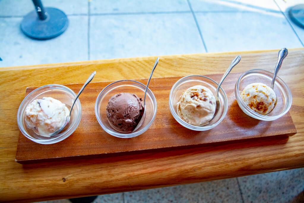 Seasonal Flavors at Salt and Straw San Francisco