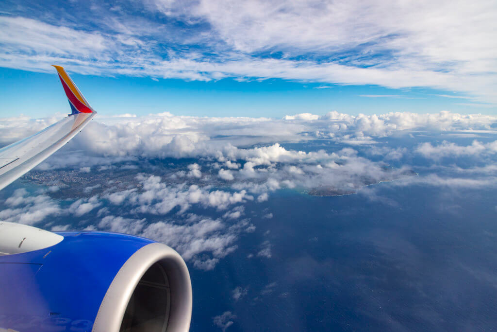 Southwest Airlines 1503 Honolulu - Kona