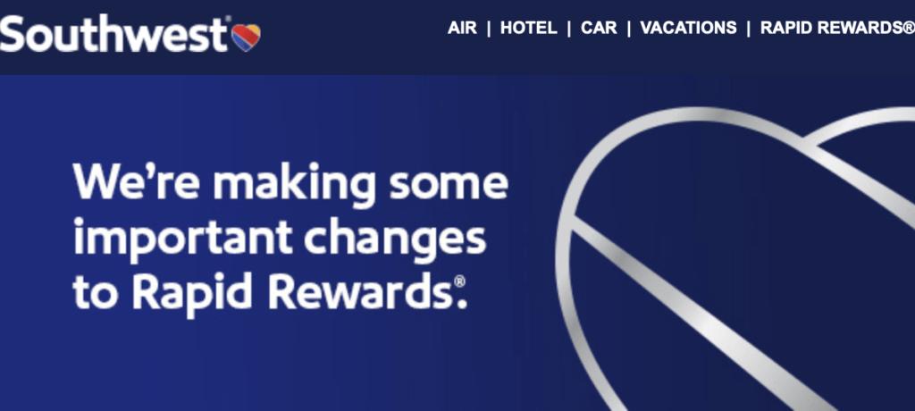 Rapid Rewards Points No Longer Expire