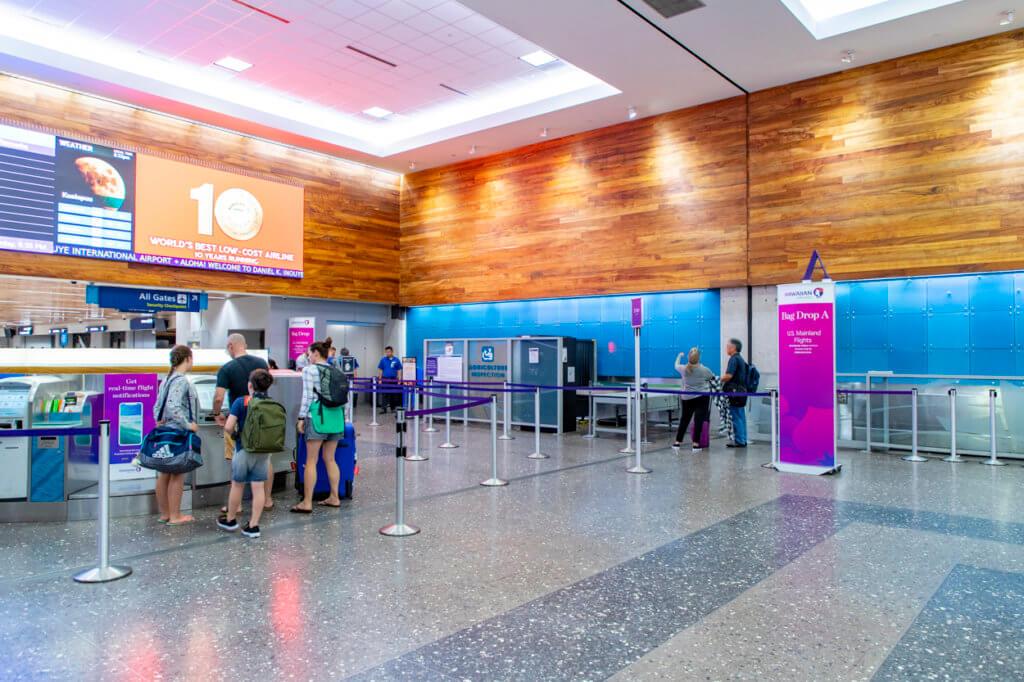 Hawaiian Airlines Check-In Lobby Renovations