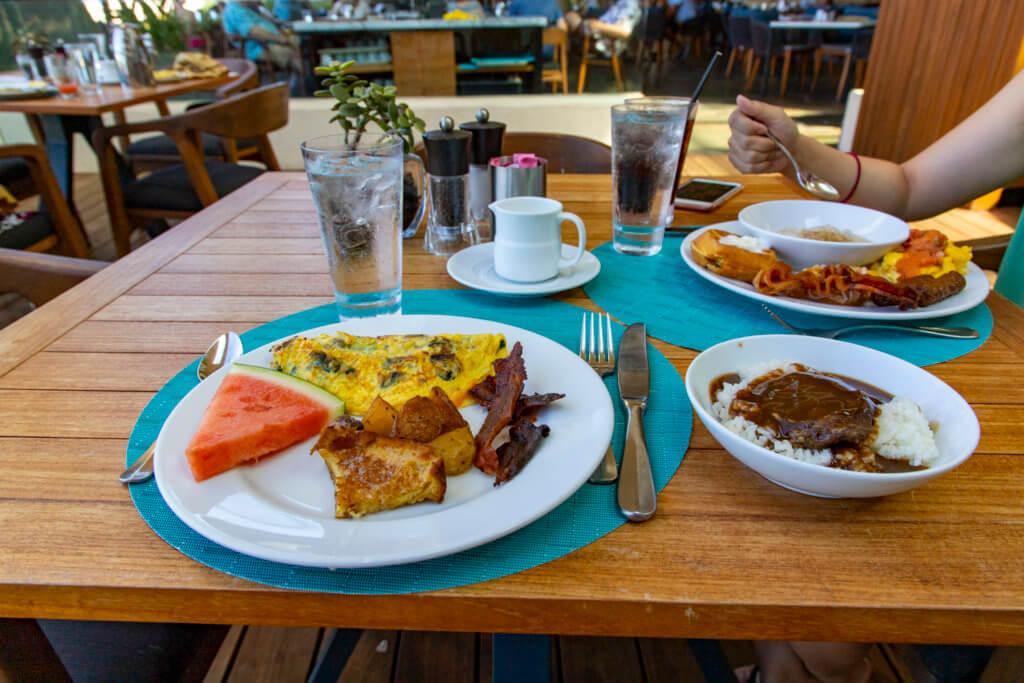 Ikena Landing Breakfast