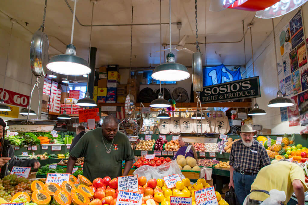 Shopping at Pike Place Market