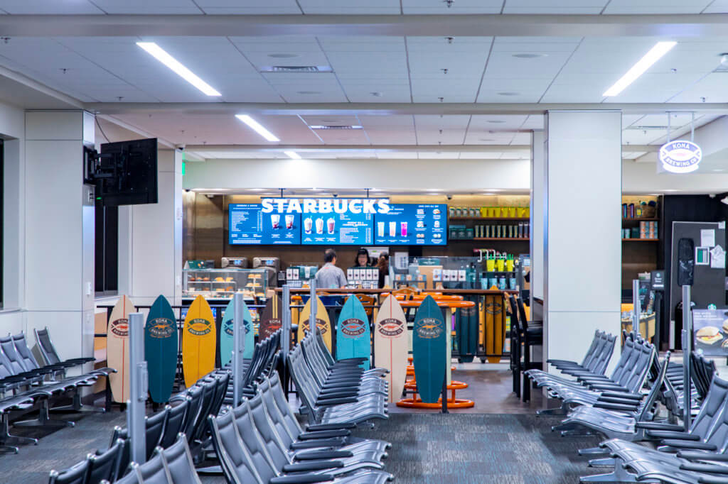Honolulu Airport Concession Workers Are on Strike