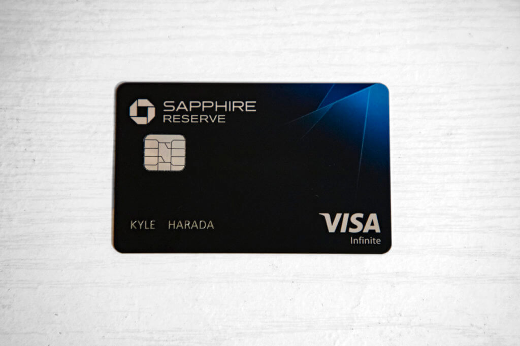 Chase Sapphire Reserve $550 Annual Fee