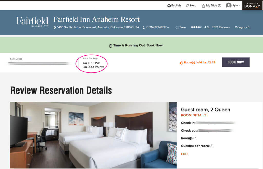 Double-Check Your Marriott Bonvoy Award Reservations