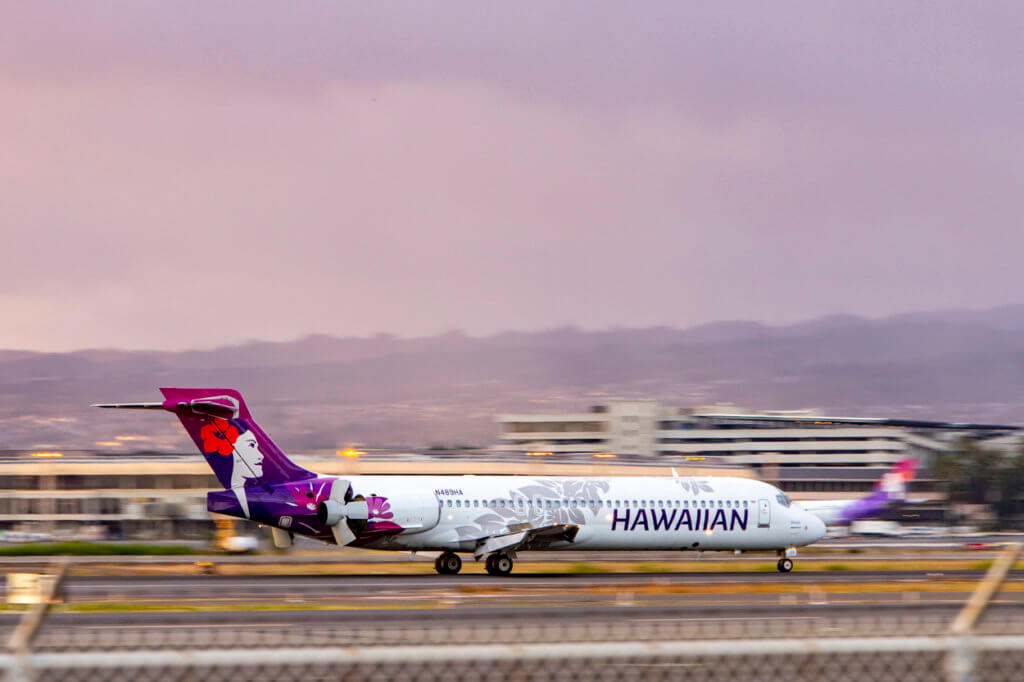Hawaiian Airlines to Cease Most Flights