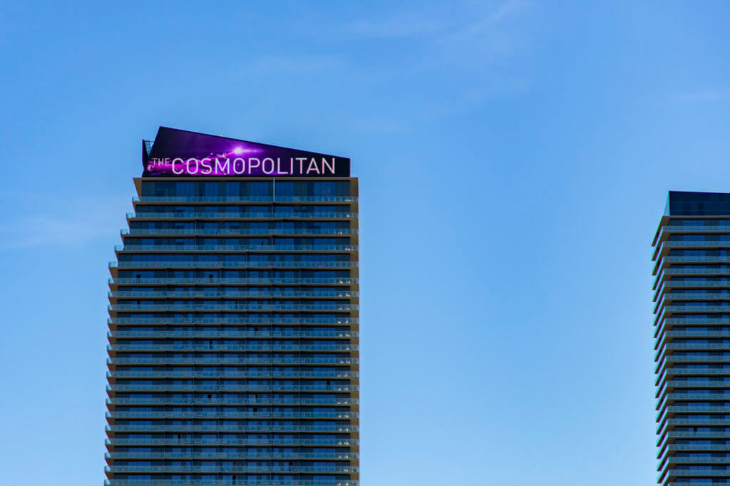 The Cosmopolitan of Las Vegas is Raising its Fees