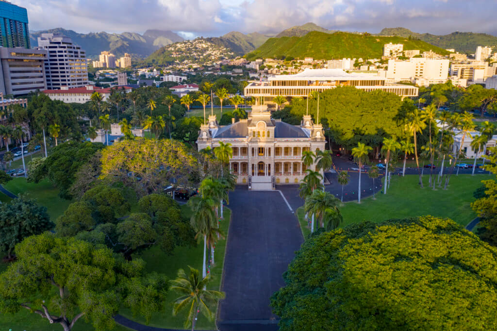 Iolani Palace is in Grave Danger