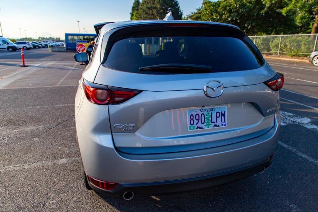 Mazda CX-5 Rental at Alamo PDX