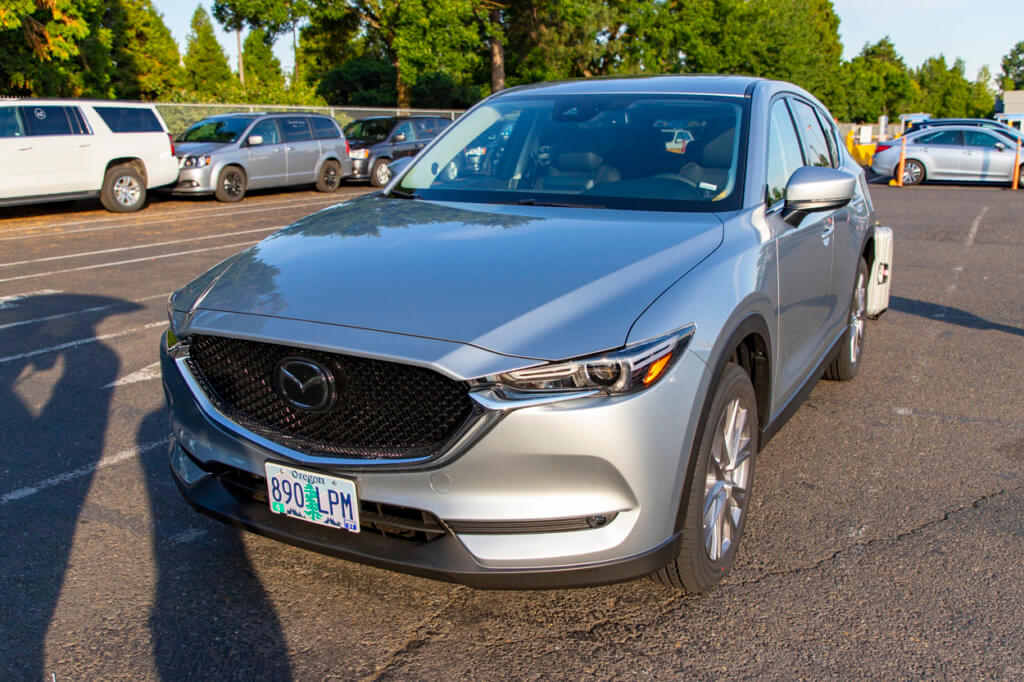 Mazda CX-5 Rental at Alamo PDX
