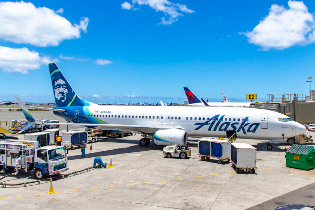 Alaska Air 833 Portland - Honolulu