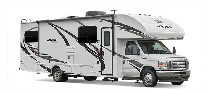 redhawk class c RV for winter travel