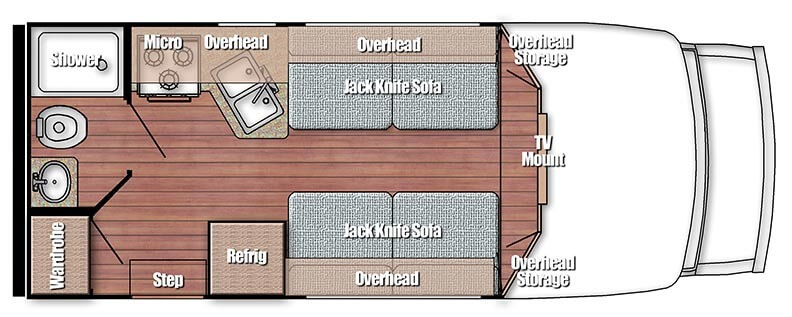 bt cruiser floor plan