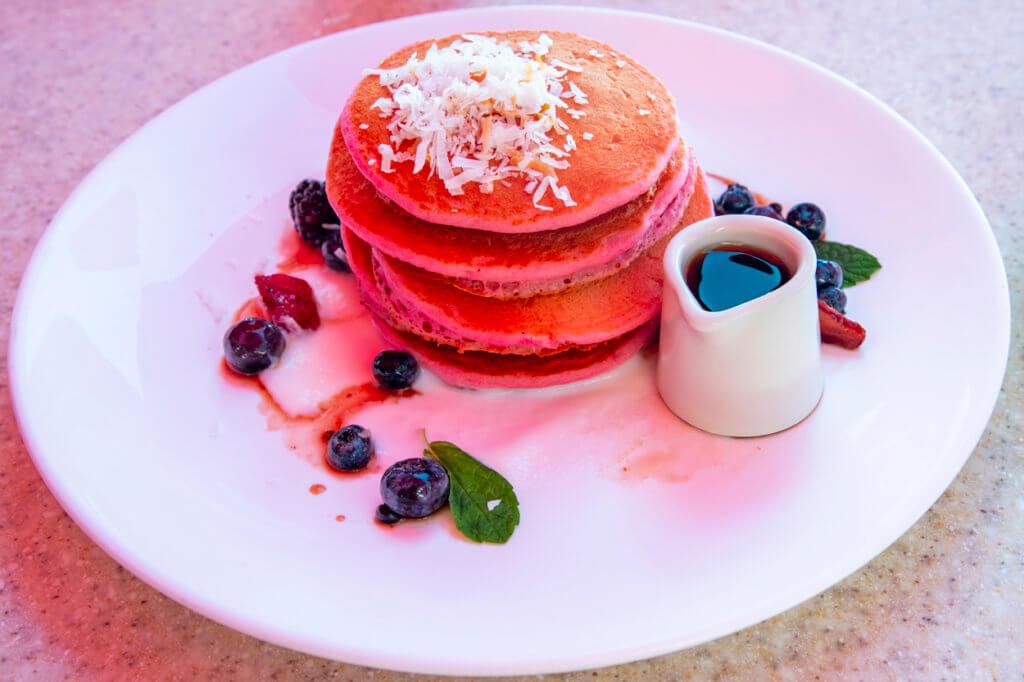 Mai Tai Bar Breakfast - Pink Palace Pancakes