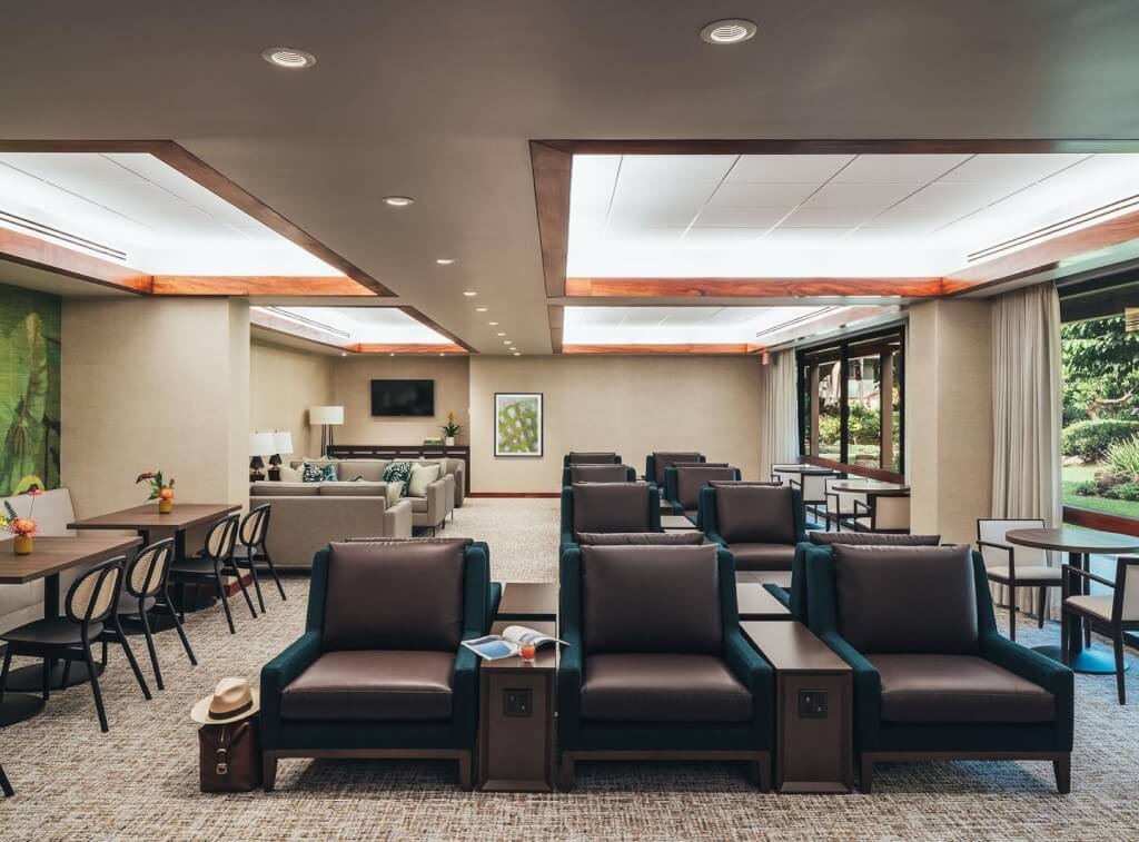 A New Airport Lounge Opened in Honolulu