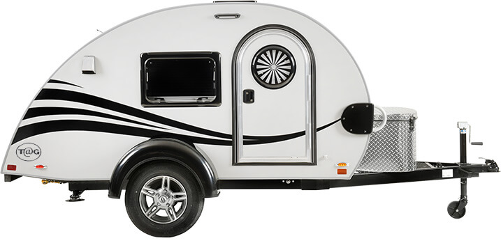nu camp travel trailer for one person